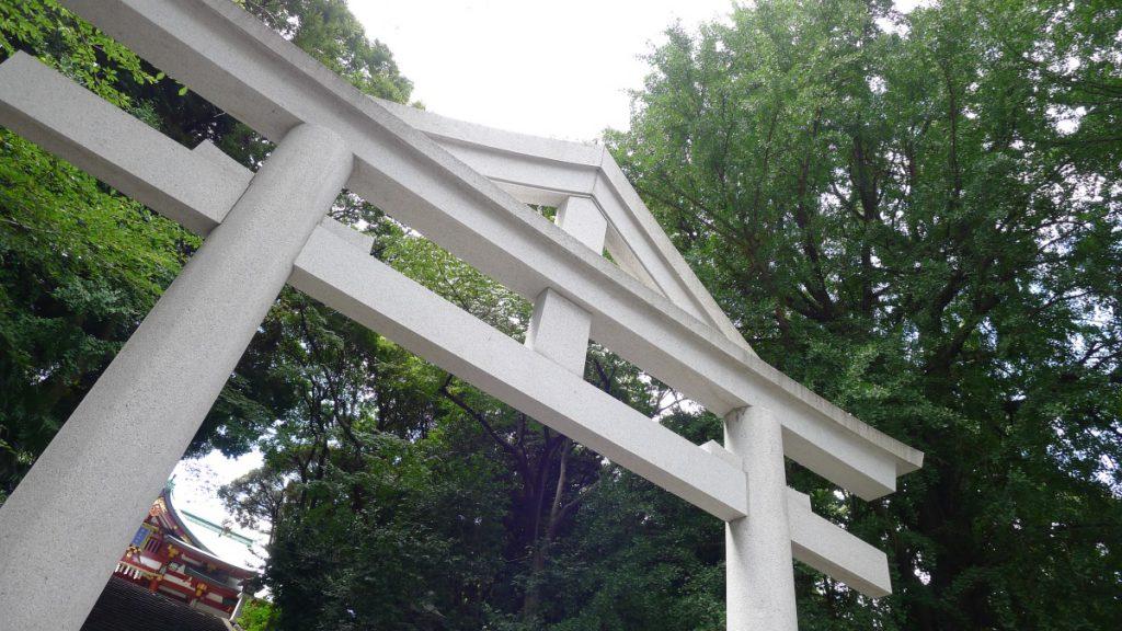 画像 日枝神社の鳥居