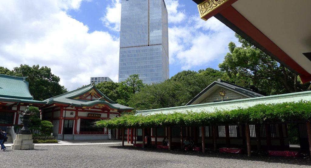 画像 日枝神社の境内の様子