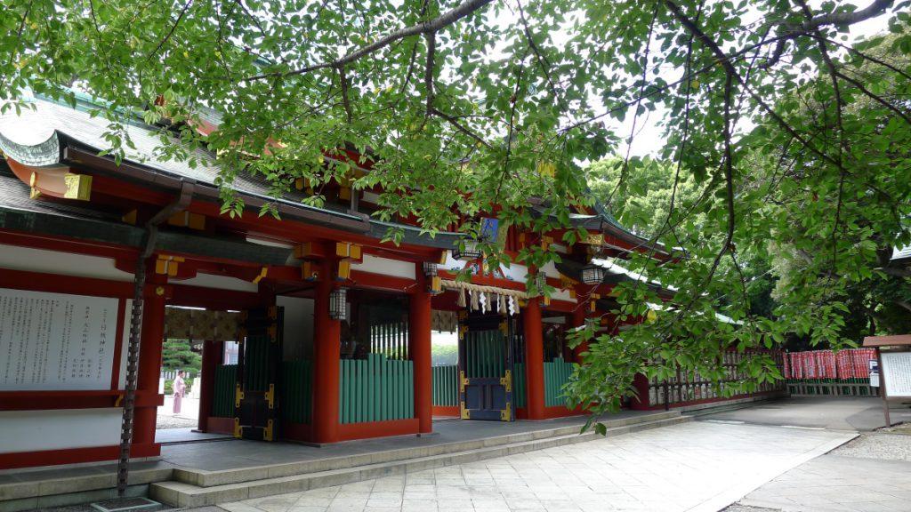 画像 日枝神社の神門