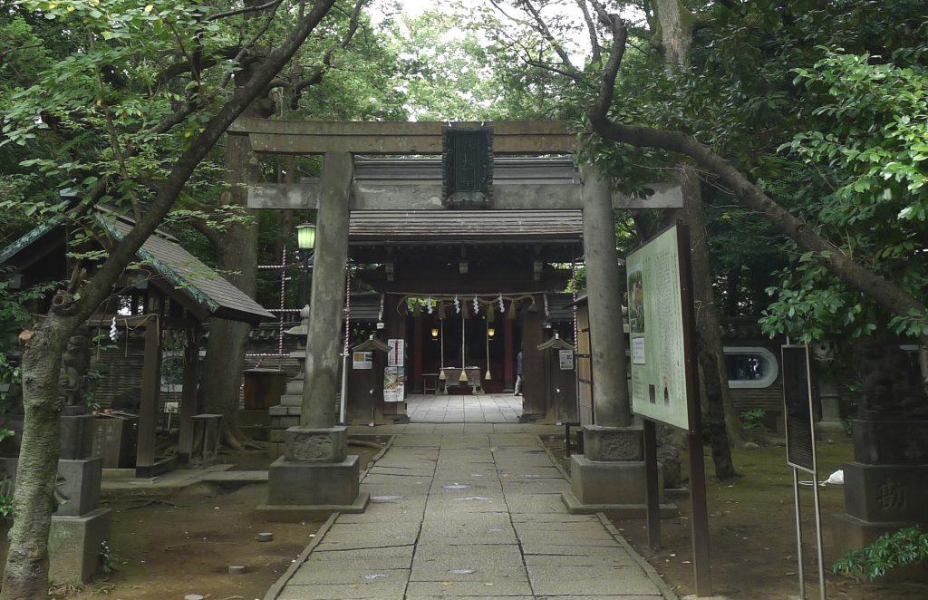 画像 氷川神社の拝殿