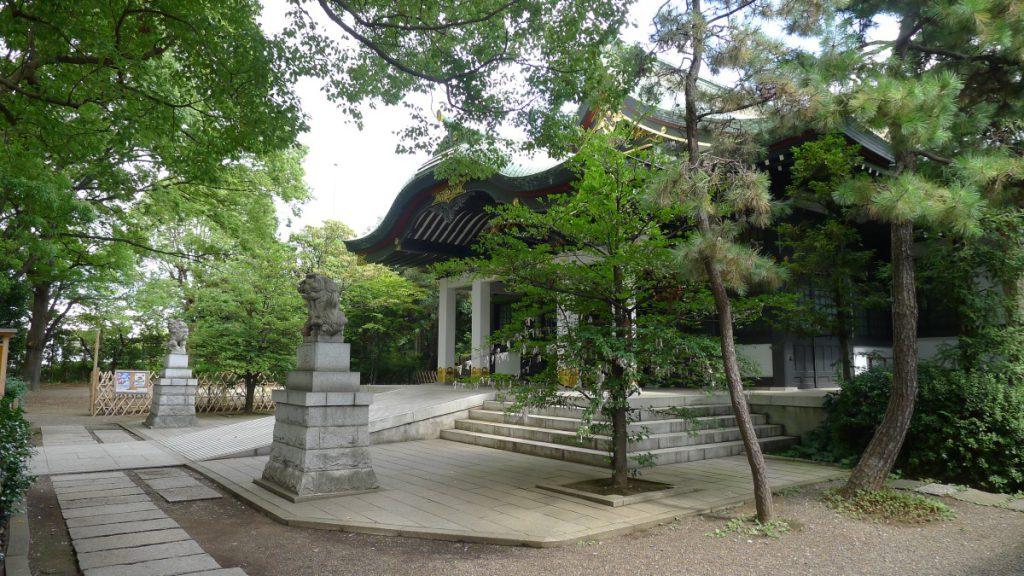 画像 王子神社の境内の様子
