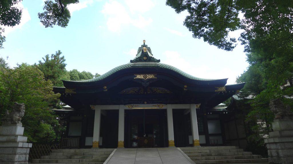 画像 王子神社の拝殿