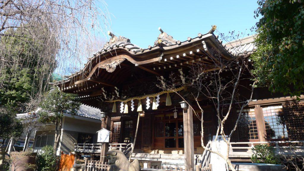 画像 白山神社の拝殿2