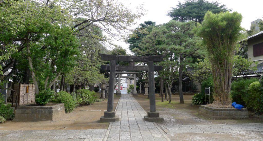 画像 品川神社の境内の様子