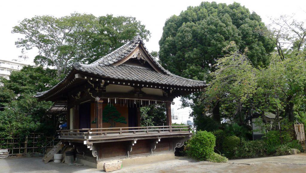 画像 品川神社の能舞台
