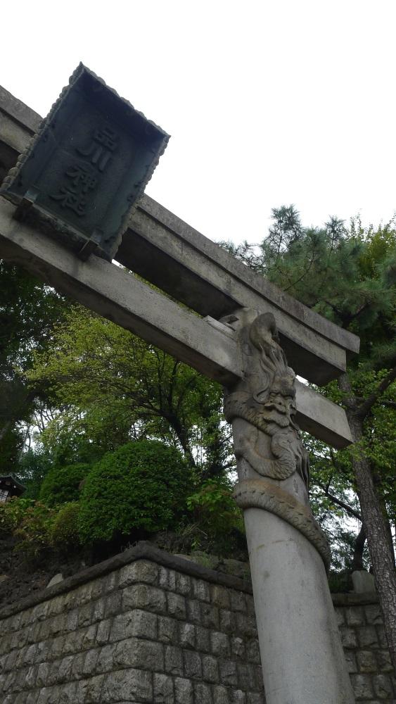 画像 品川神社の鳥居2
